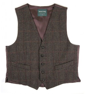 High Nelly Tweed Vest Style 1