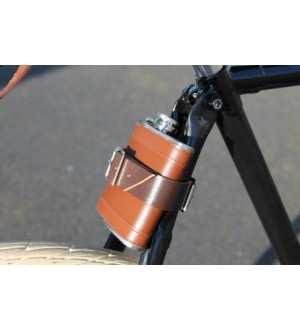 Hip Flask & Leather Strap