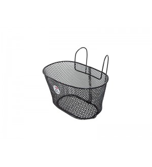 Metal bike basket