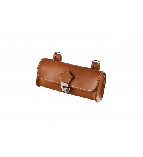 Handmade Italian Saddle Bag Tan 2