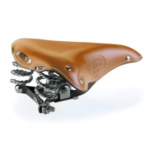Handmade Leather  Italian Saddle Tan (Selle Monte Grappa)