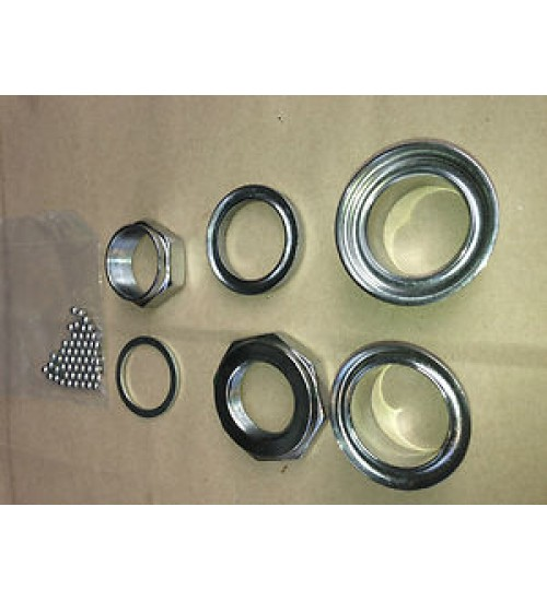 Headset Bearing & Carriers Complete Set Raleigh/BSA/ ETC
