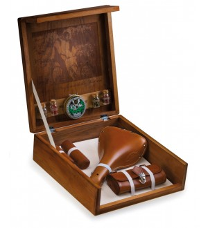 Saddle + Saddle Bag Gift Set In Display Box