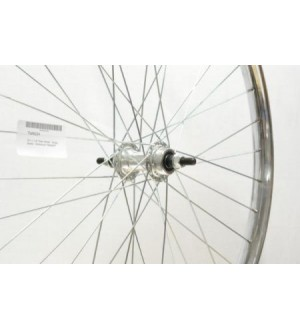 26 x 1 3/8 Premium Alloy chrome non rust Westwood Rim Rear 36 Hole